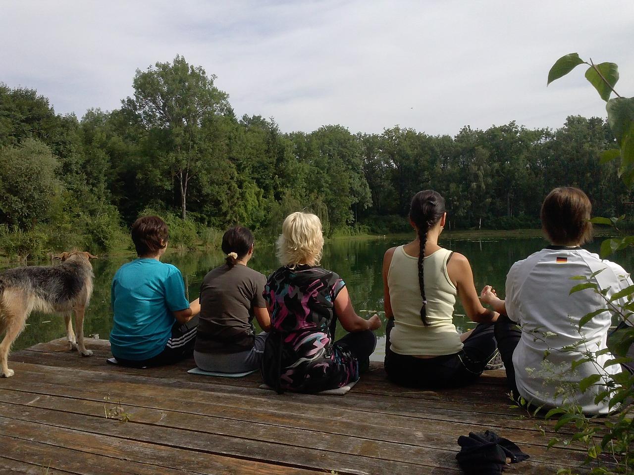 Familien Yoga